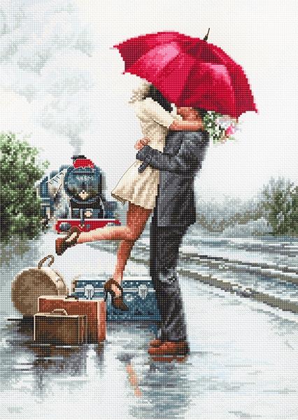 B2369 Влюблённые на вокзале (Luca-S)