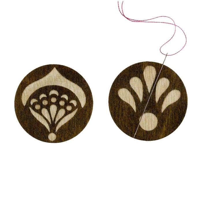"""FLMH-043(W) Магнитный держатель для игл """"деревянный"""""""