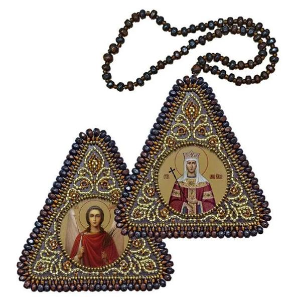 ТР1215 Св. Равноапостольная Царица Елена и Ангел Хранитель