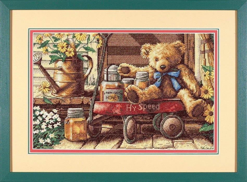 13693 DMS Мишка с медом