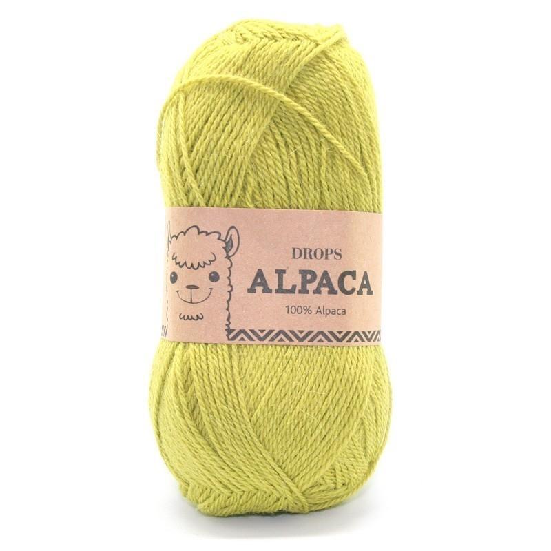 Пряжа DROPS Alpaca Цвет.2916
