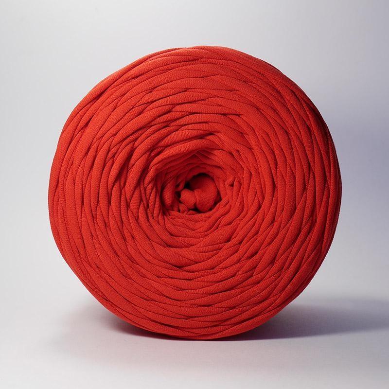 Пряжа Лента Цвет.Красный