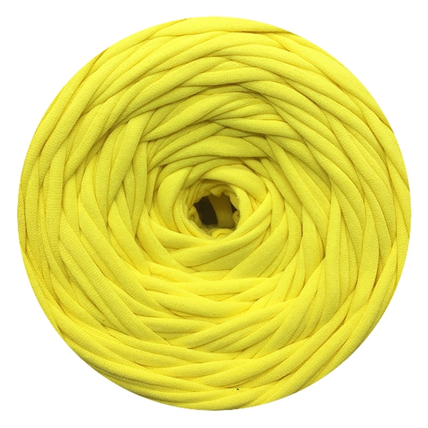 Пряжа Лента Цвет.Лимон