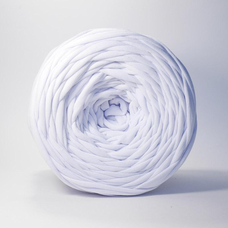 Пряжа Лента Цвет.Белый