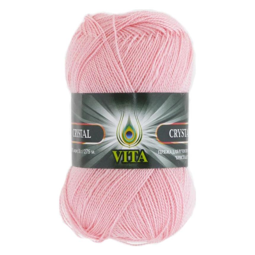 Пряжа VITA Crystal Цвет.5682 Розовая пудра