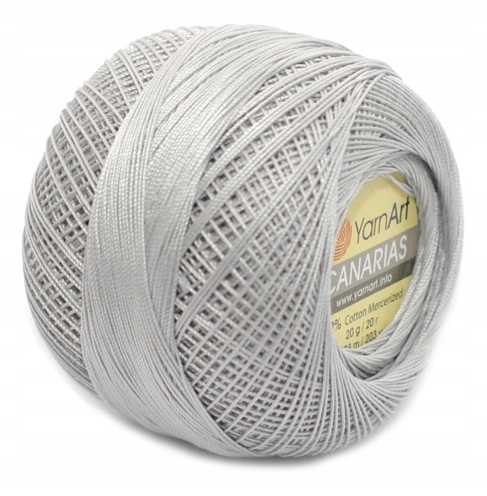 Пряжа YarnArt Canarias Цвет.4920 Светло серый