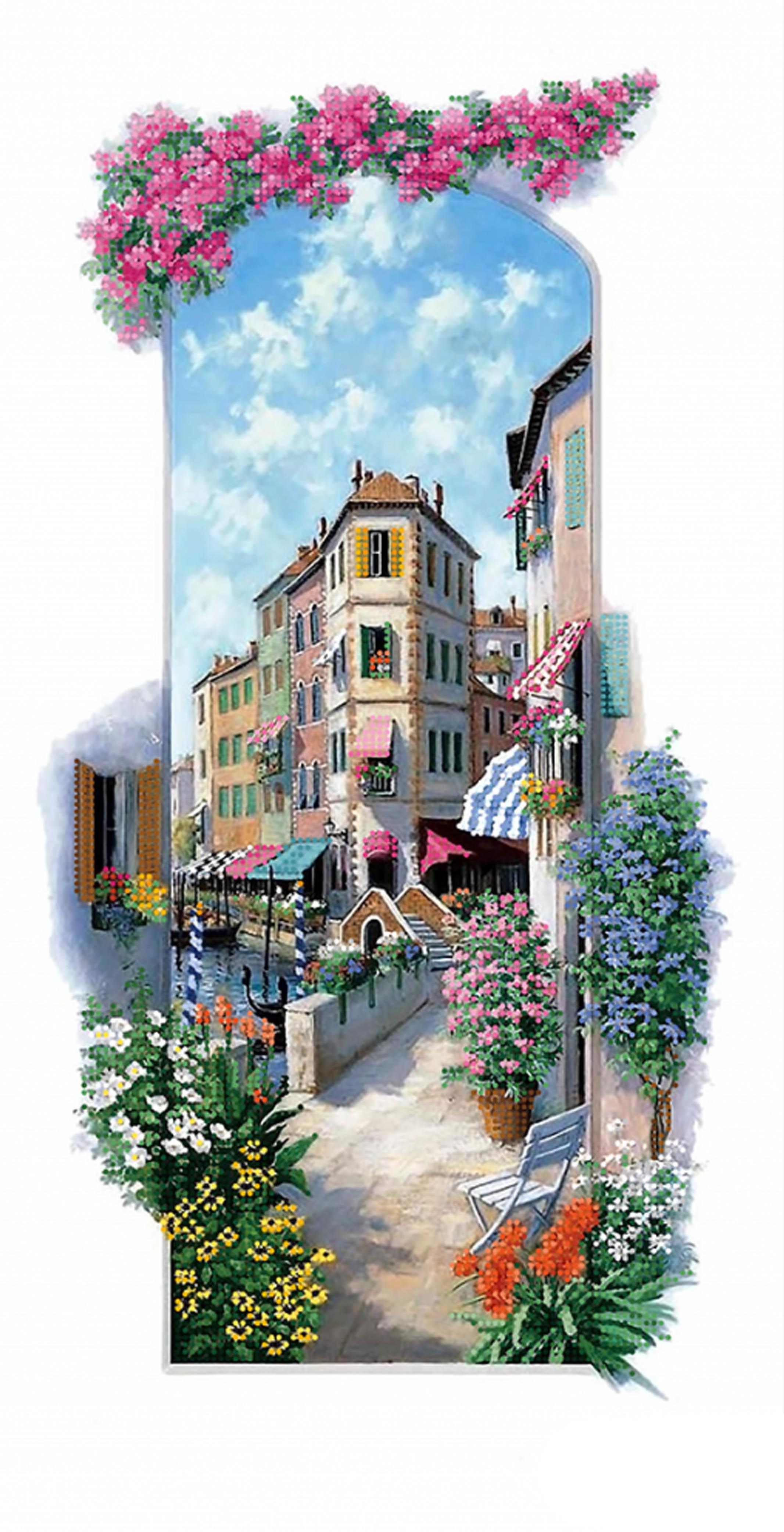 ТА-404 - Итальянские пейзажи. Венеция - схема (Tela Artis)