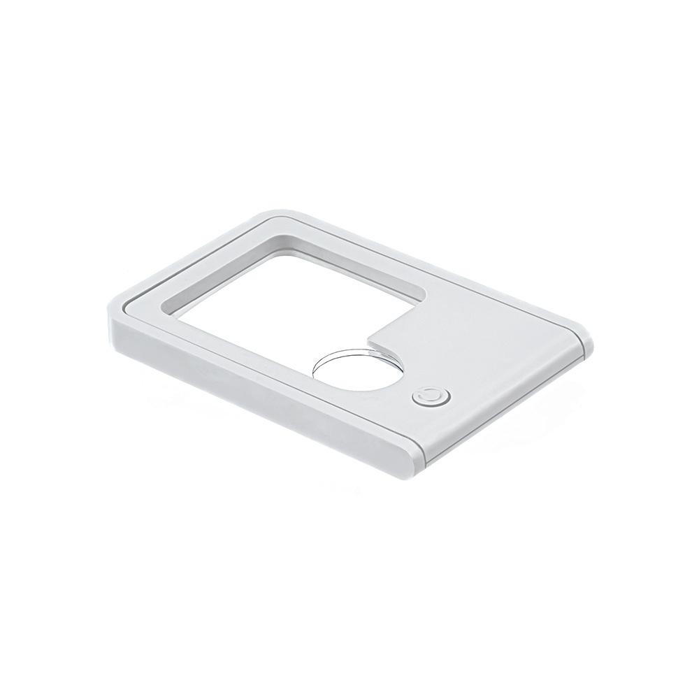 FR-13 Карманная лупа с подсветкой в картонной упаковке увеличение Х3, Х10