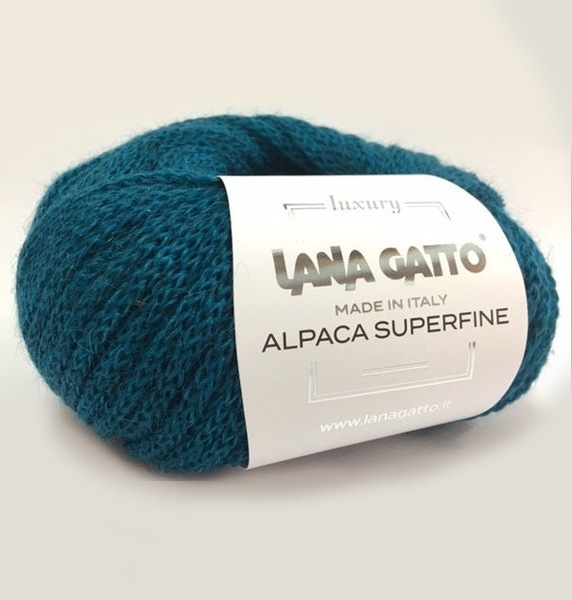 Пряжа Lana Gatto Alpaca Superfine Цвет.8476