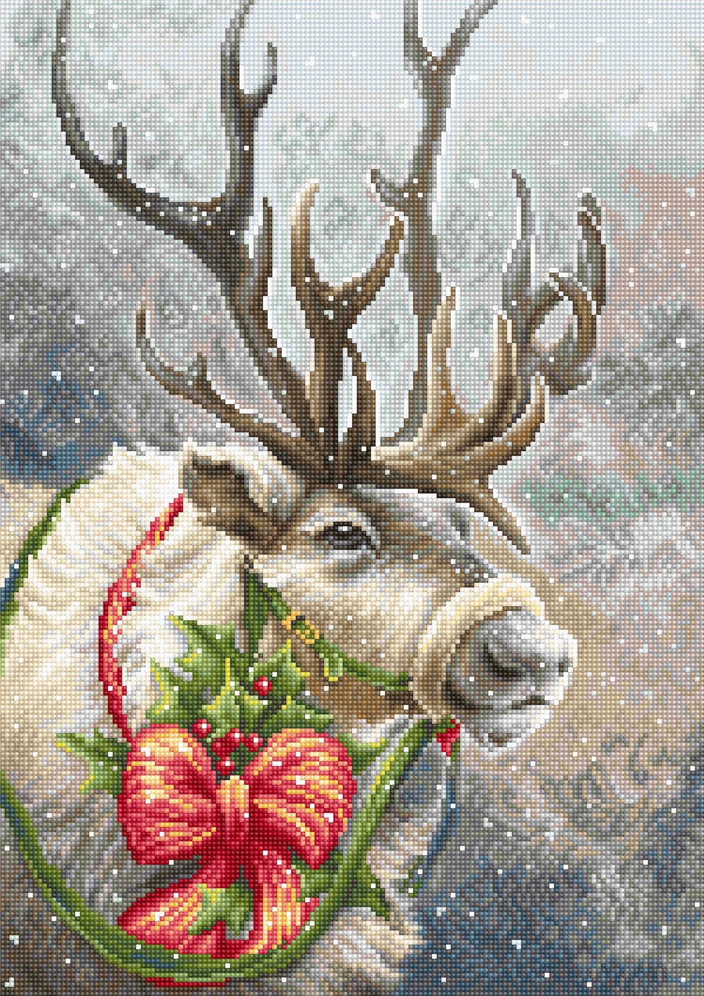 B598 Рождественский олень