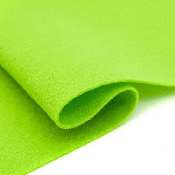Фетр листовой  Астра, 1,0мм, 180 гр, 20х30см, 10 шт/упак (YF 674 салатовый)