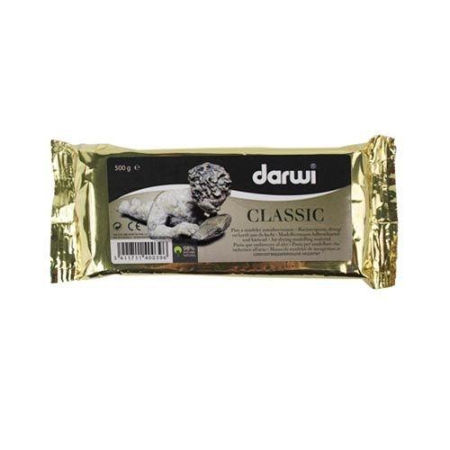 DA0800500000 Паста DARWI CLASSIC самоотвердевающая белая 500 гр.