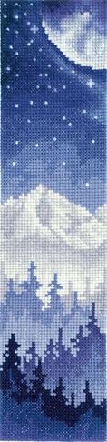 З-48 Закладки. Луна над лесом