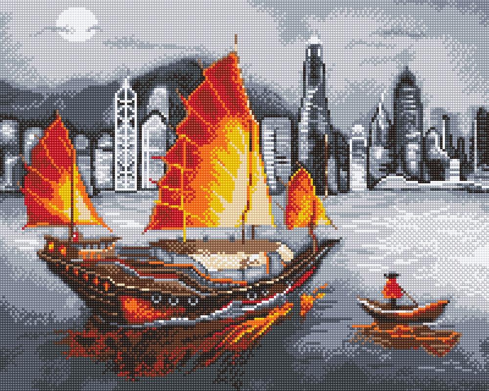 """ALVK-04 """"Ночной Гонконг"""""""