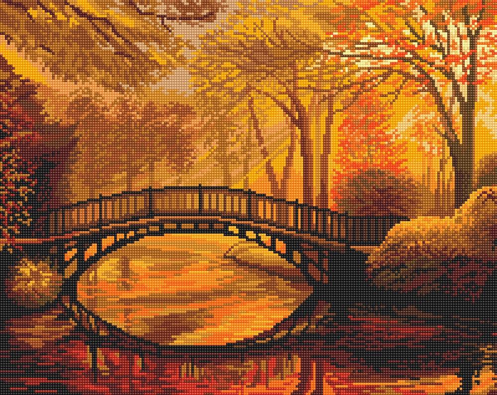 """ALVK-03 """"Осень в старом парке"""""""