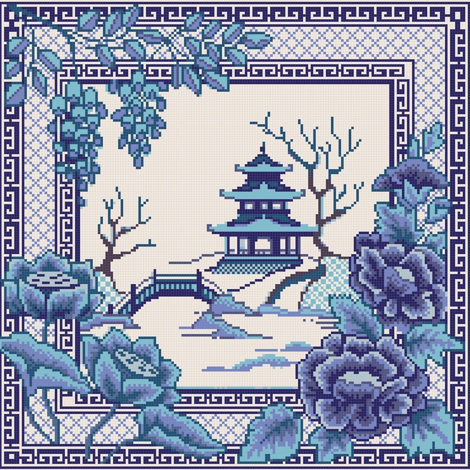 """НИК 7816 """"Восточная страна"""" - схема для вышивания"""