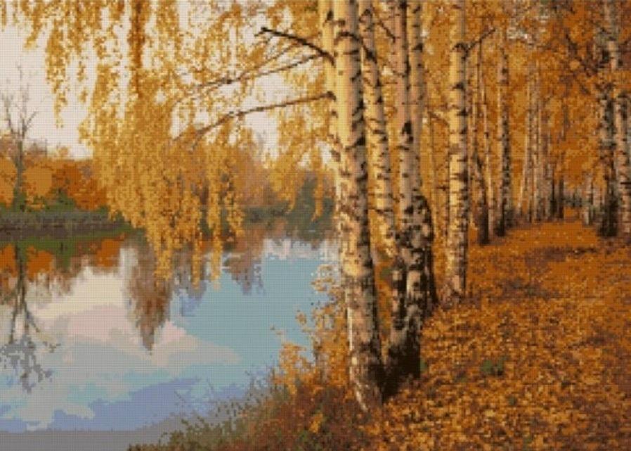 AM057 Осенний лес