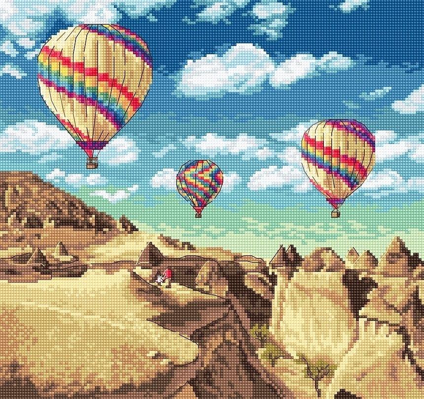 961 - Шары над Гранд Каньоном