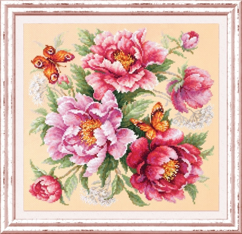 140-001 Магия цветов. Пионы