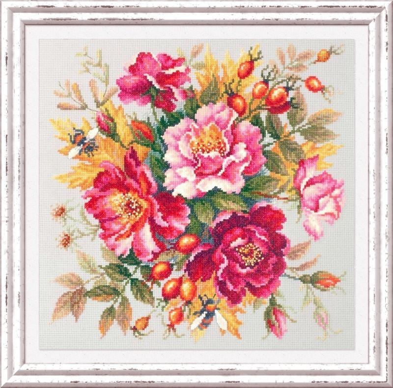 140-002 Магия цветов. Шиповник