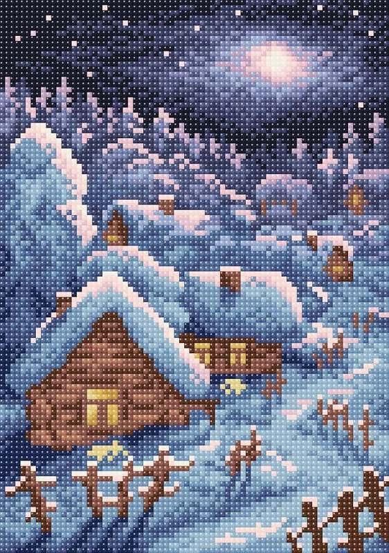 МС-005 Зимний пейзаж
