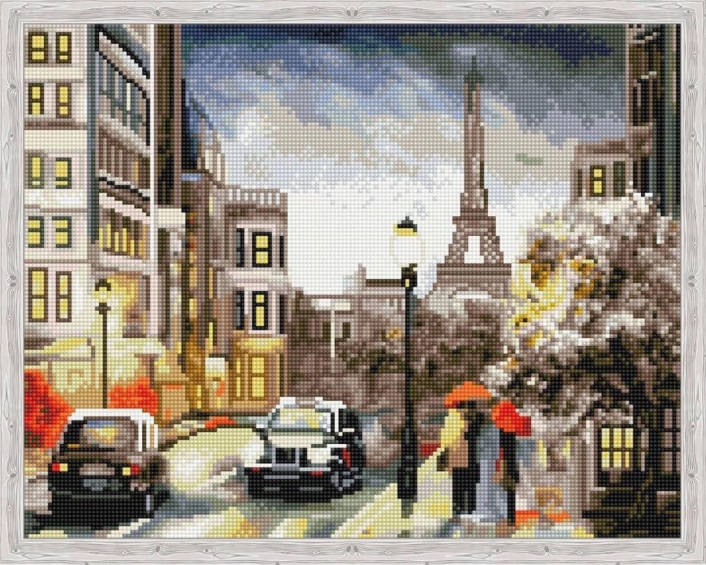 Алмазная вышивка qa204017 Городская романтика
