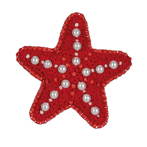 10-012 Брошь. Морская звезда