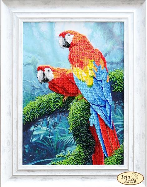 НТК-033 - Попугаи Ара - набор (Tela Artis)