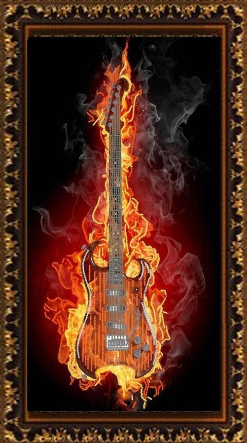 НИК 8501 Гитара в огне