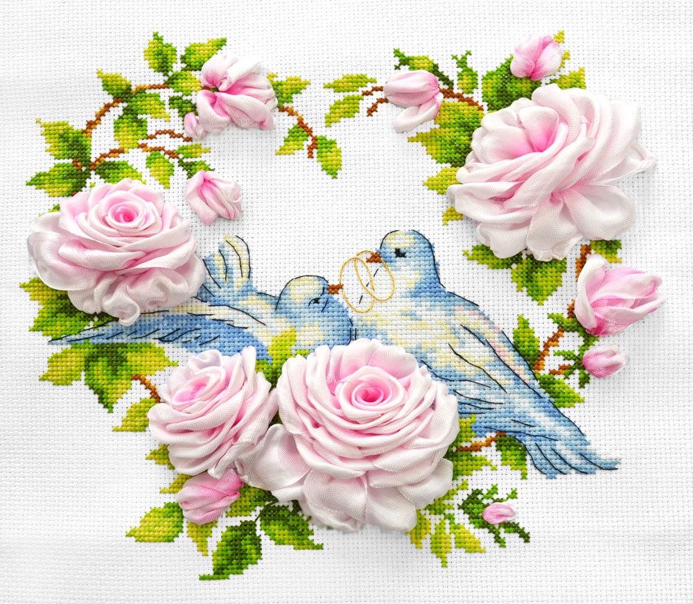 МЛН 09 Любовь и голуби - набор (Каролинка)