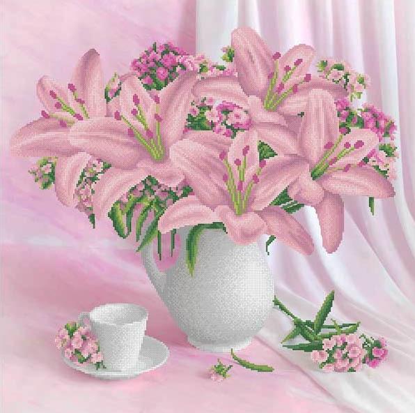 ММН-028 Набор Пудровые лилии