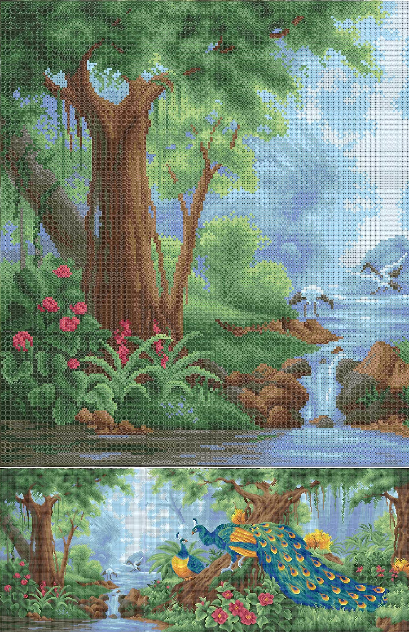 ММЖМ-015-А Набор Райский сад