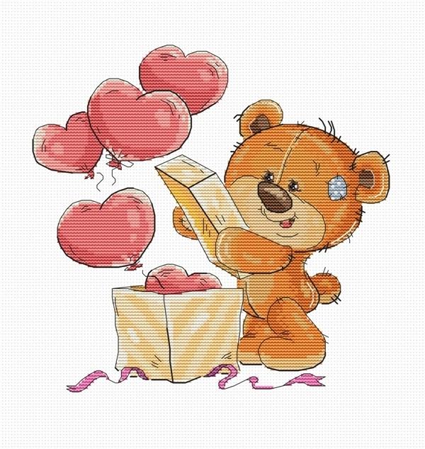 B1177 Teddy-bear (Luca-S)