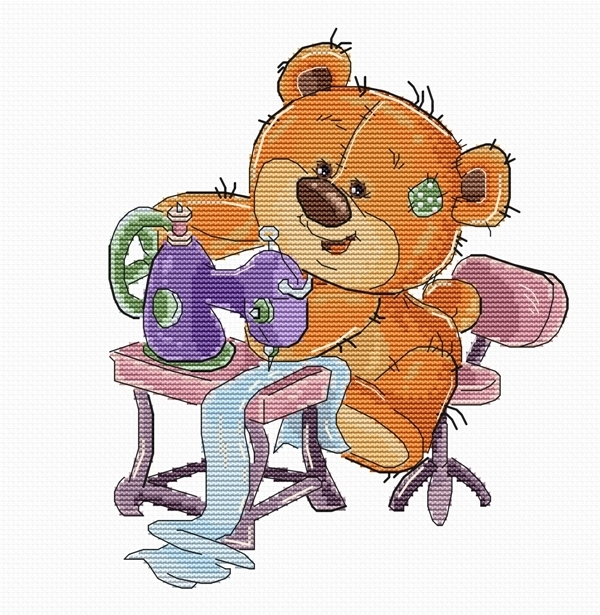 B1179 Teddy-bear (Luca-S)