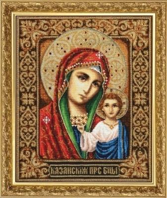 И-005 Казанская икона Божией Матери (ЗР)