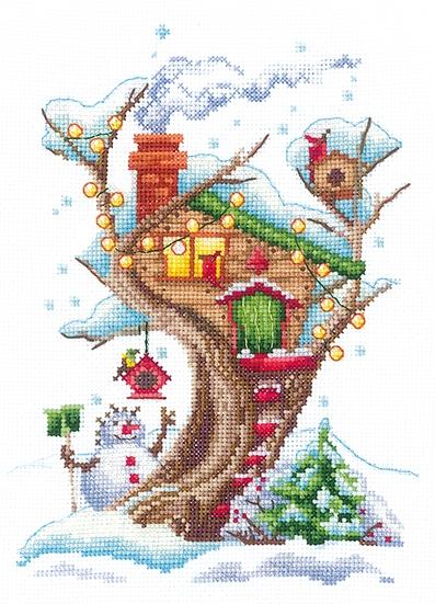 Д-23 Дома на деревьях. Снежный