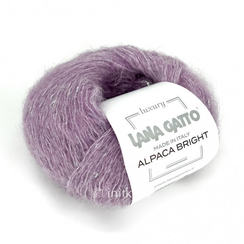 Пряжа Lana Gatto Alpaca Bright Цвет.09123