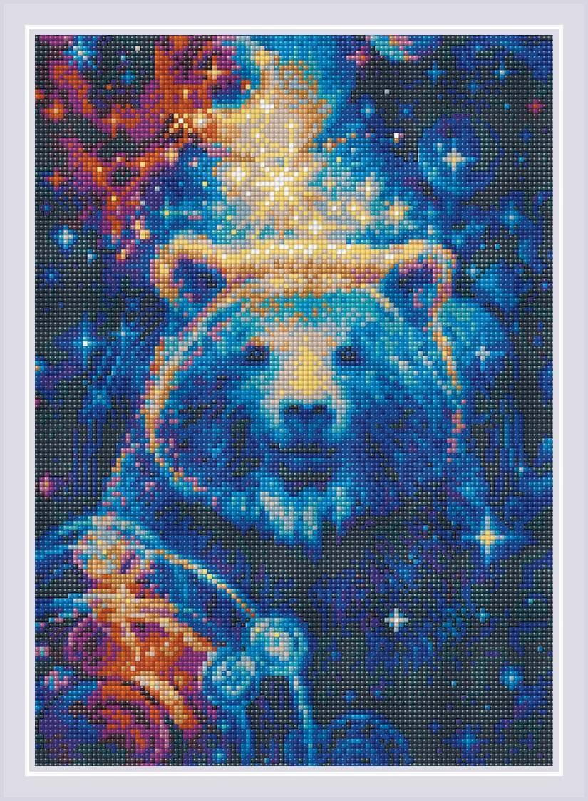 Алмазная вышивка АМ0050 Большая медведица