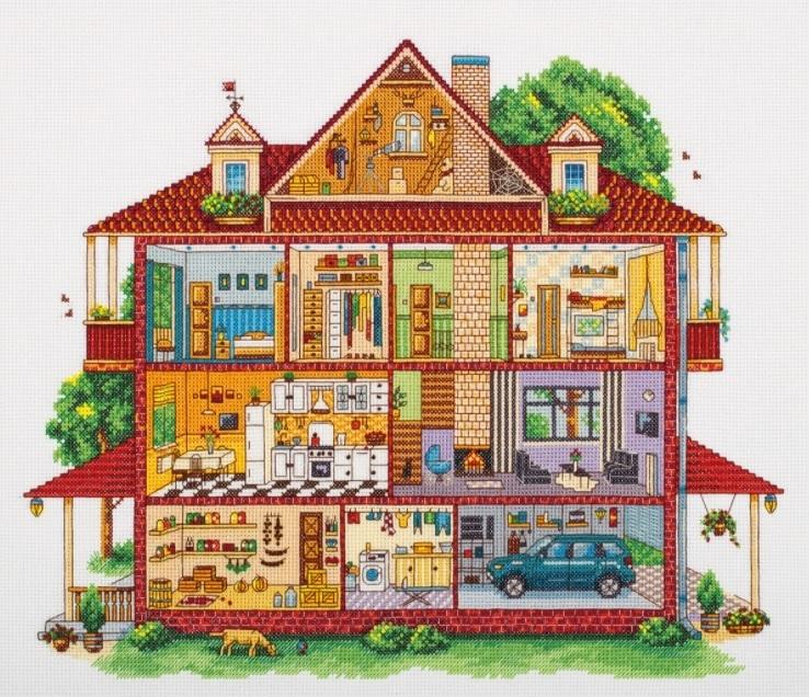 DE-7201 Загородный дом