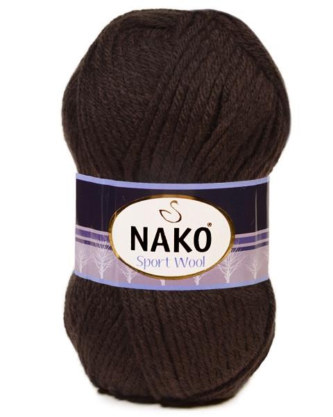 Пряжа Nako Sport Wool Цвет.4987