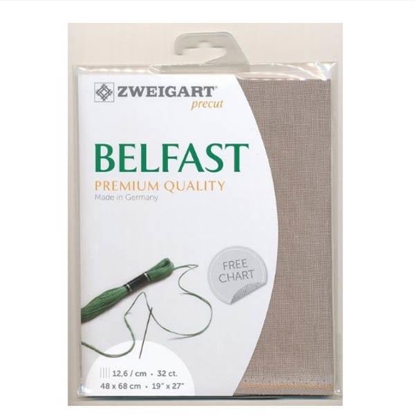 Канва Zweigart 3609 Belfast (100% лен) цвет 3021 шир 140 32ct
