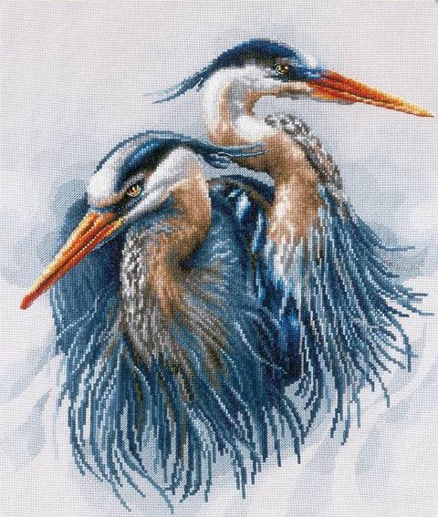 PN-0185890 Great blue herons (Lanarte)