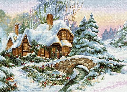 BU5001 Зимний пейзаж