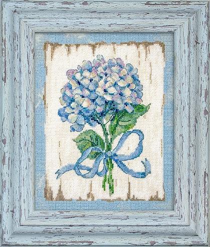 973 - Голубые цветы 2