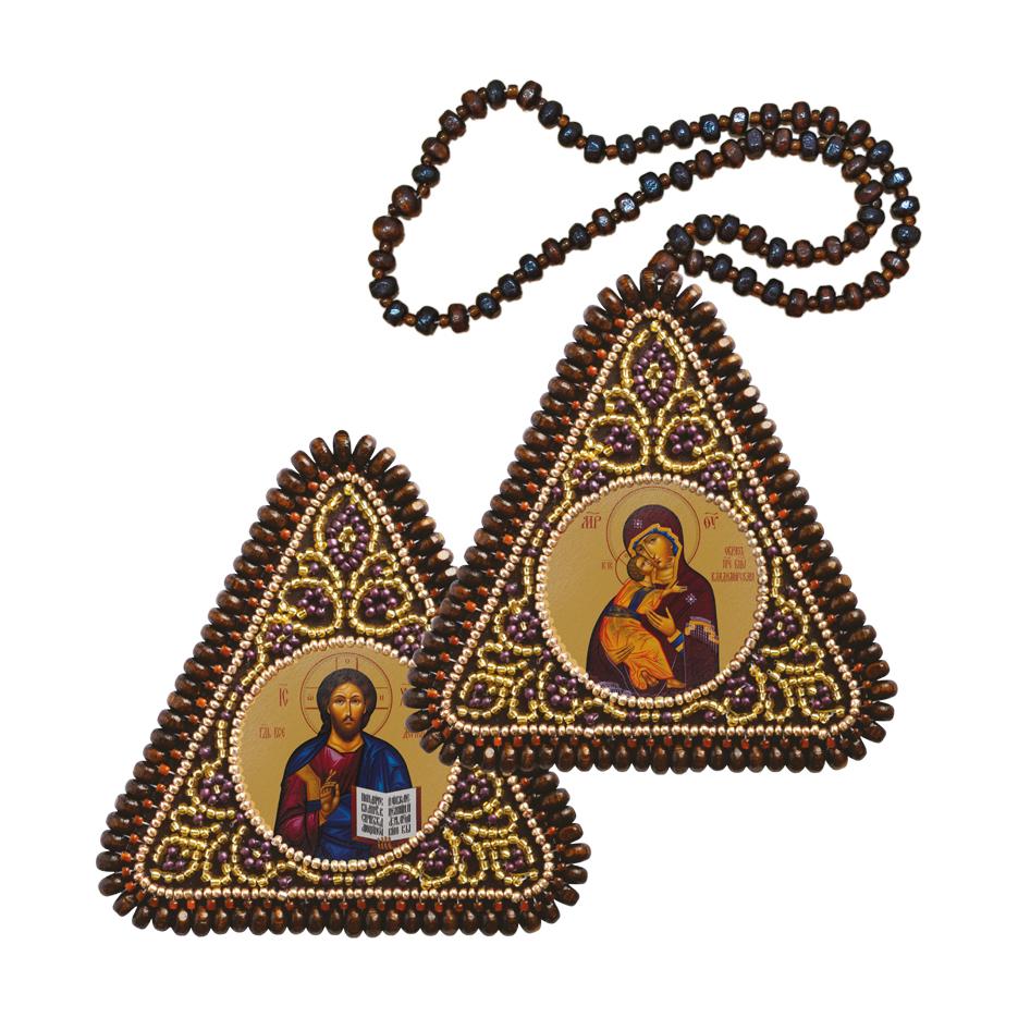 ТР1002 Богородица Владимирская и Господь Вседержитель
