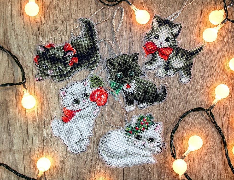 987 - Рождественские кошки