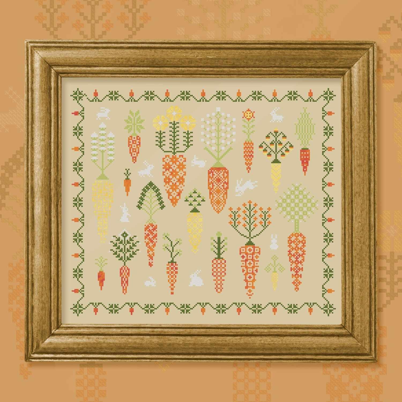 0015-МЛ-Н-ЗBf Морковный лес