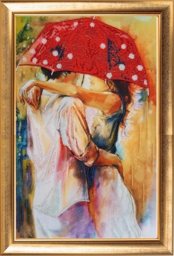 836 Пара под зонтом - Butterfly