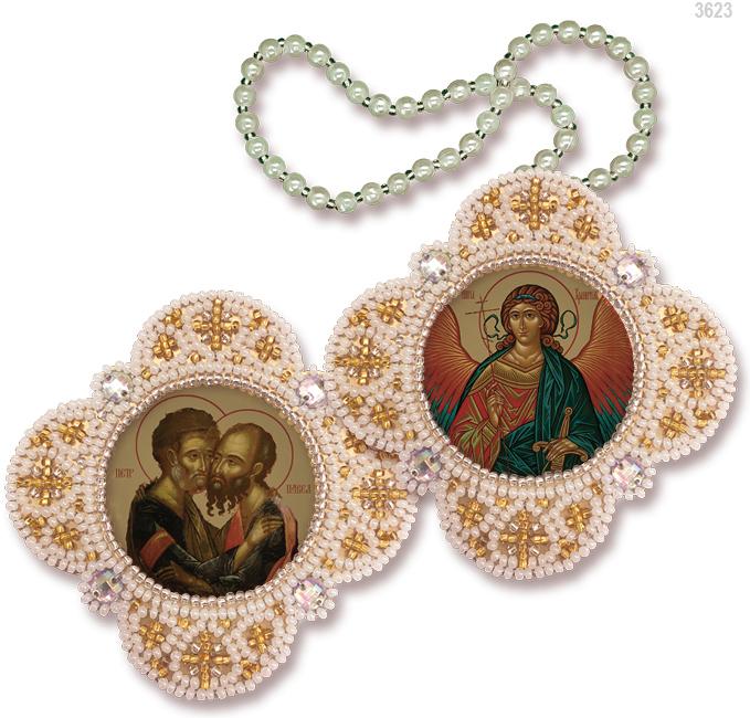 РВ3623 Апостолы Пётр и Павел Ангел Хранитель
