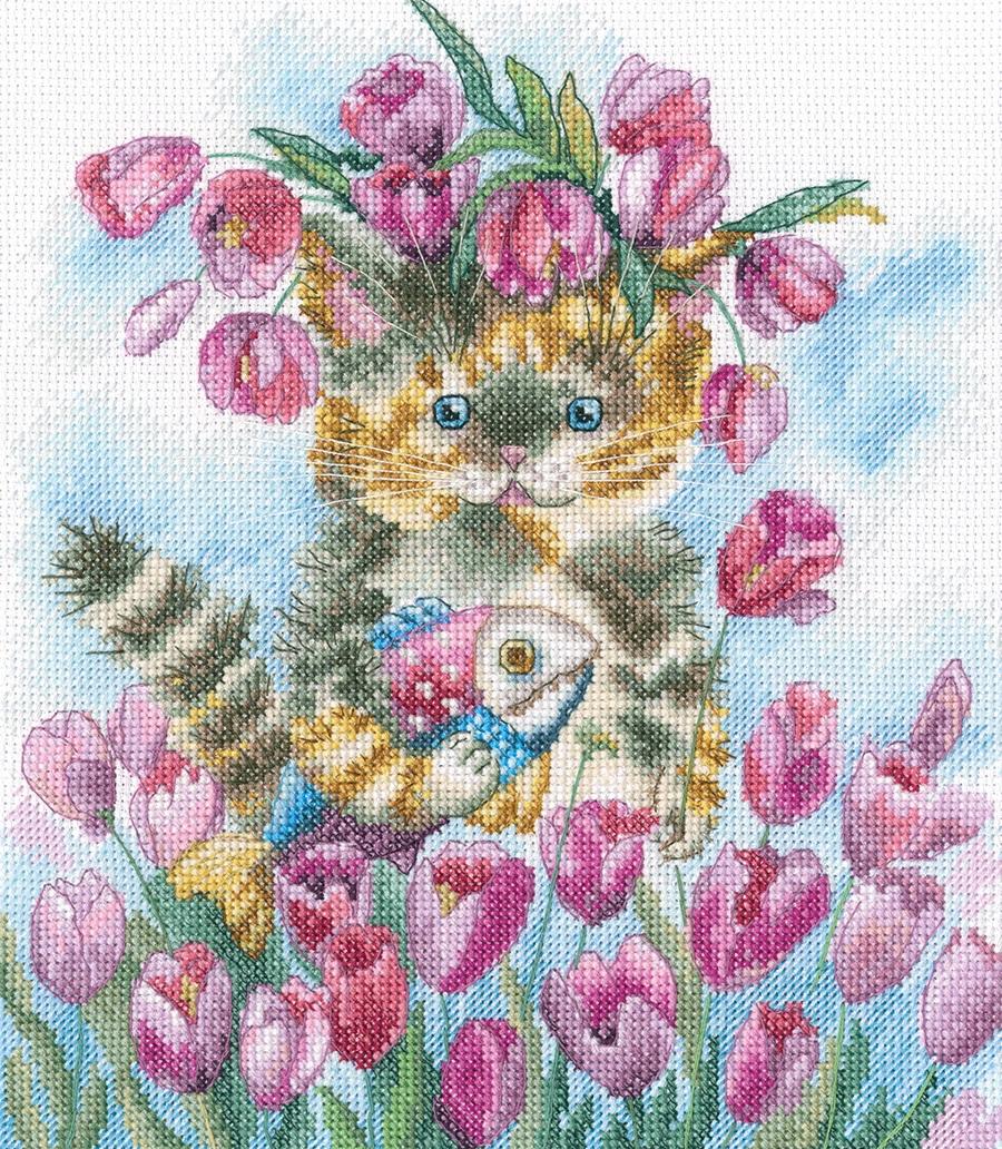 M839 Тюльпановая весна